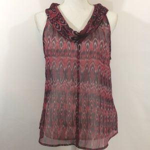Converse One Star Womens Top Size Large Sleeveless